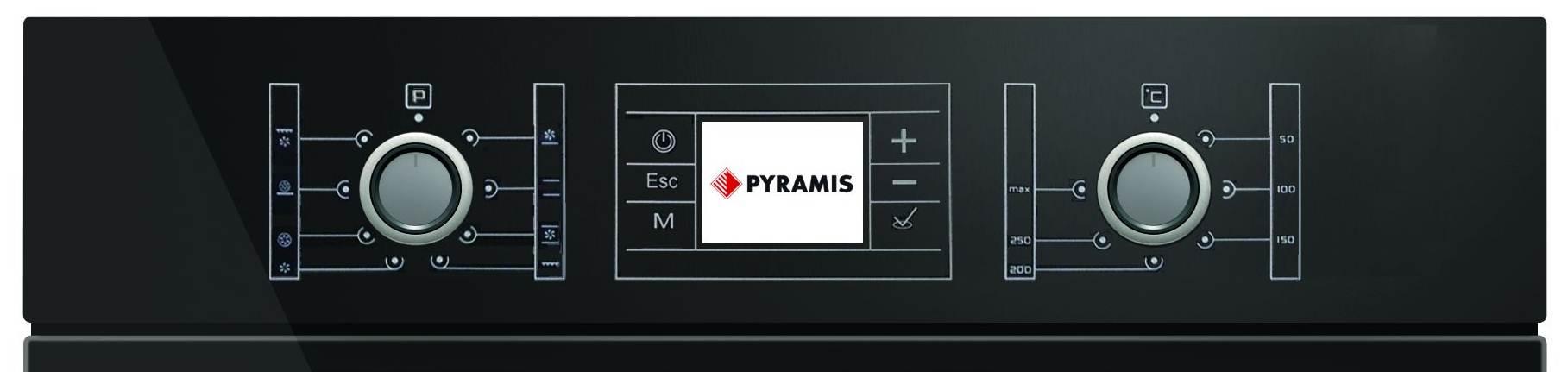 control-cuptor-electric-incorporabil-pyramis-60in-1012-grill-touch-lcd-clasa-a-sticla-neagra