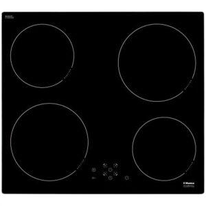 Plita incorporabila Hansa BHI67303, Inductie, Touch control, Sticla neagra, Siguranta copii