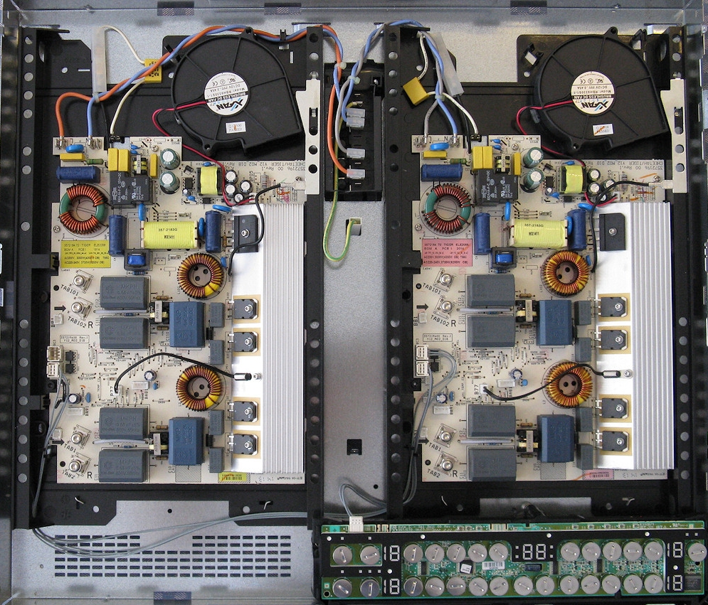 Interior plita inductie, montaj electronic
